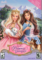 Barbie as The Princess and the Pauper CD-ROM