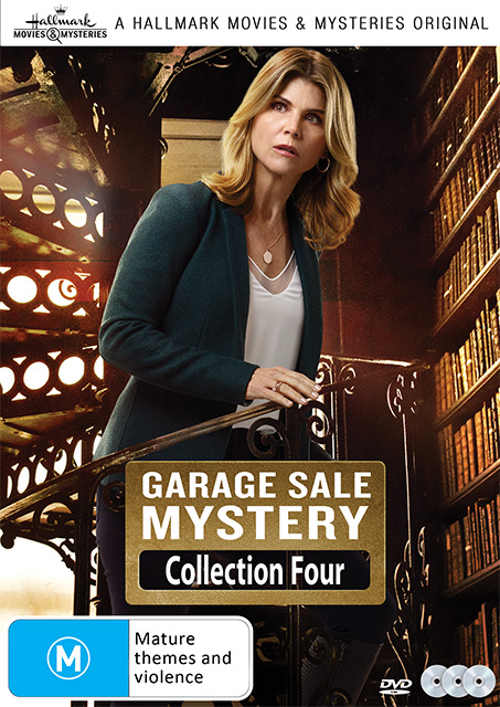Garage Sale Mystery Collection Four DVDs