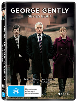 Win George Gently Season 8 DVDs