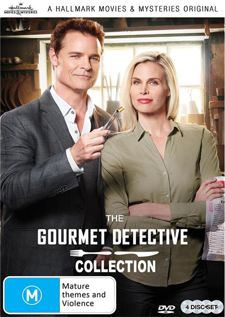 Win Gourmet Detective The Collection DVDs