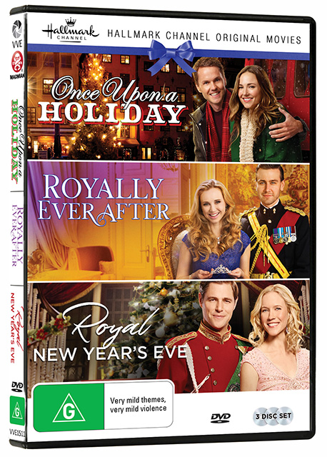Hallmark Royal Collection DVDs
