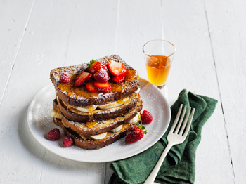 Helga's Honey and Banana French Toast