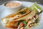 MSC Certified Grilled Hoki Fish Taco Recipe