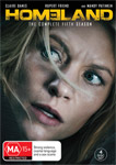 Homeland Season 5 DVDs