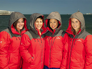 Largest female expedition to Antarctica