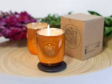 Honey & Glow Candle