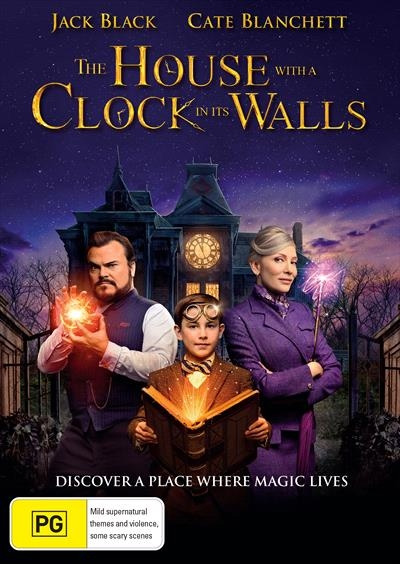 The House with a Clock in Its Walls DVDs