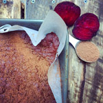 Fudgey Cacao and Beetroot Superfood Brownie