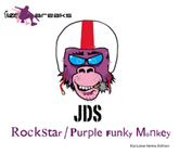 JDS Rockstar / Purple Funky Monkey