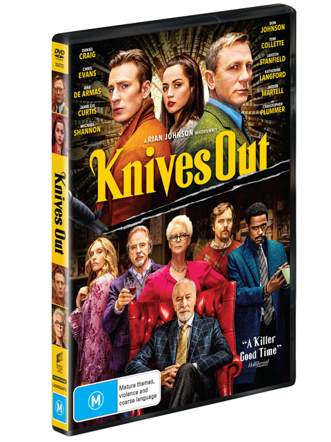 Knives Out DVDs