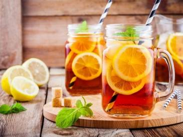 Lemon Myrtle Iced Tea
