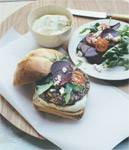 Chargrilled Lamb and Macadamia Burger