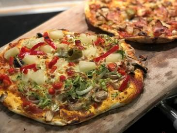 Coconut Flour Linseed Pizza Base
