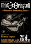 Mike Elrington Homecoming Show with Rhiannon Simpson