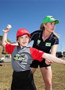 Holly Ferling Australian Junior Grassroots Cricket Interview