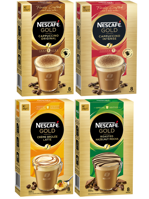 NESCAFÉ Gold Range Packs