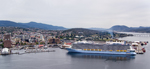 Ovation Of The Seas Debut in Hobart
