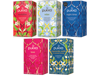 Pukka Winter Boosting Teas