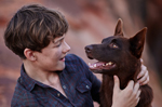 Levi Miller Red Dog: True Blue