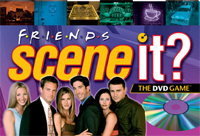 Catch up with your Friends with the latest edition of Scene It? The DVD Game