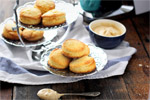 Scones with Coffee Cream