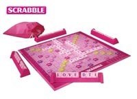 Pink Scrabble supporting Breast Cancer