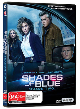 Win Shades of Blue DVDs