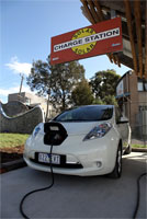 Melbourne's Own Solar Powered Charging Station Ready to Use