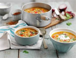 Lightly Spiced Vegetable Soup