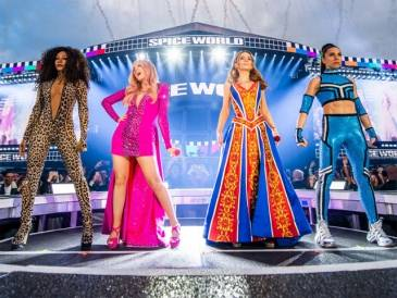 Spice Girls Dazzling Costumes