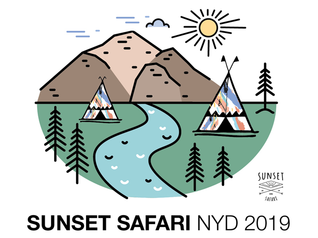Sunset Safari NYD 2019 - Greenfields, Melbourne