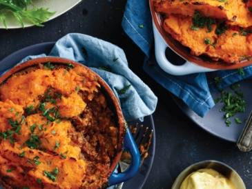 Beef and Sweet Potato Cottage Pie
