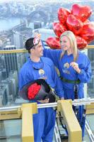 Romantics Look For Love 268m High on Sydney.s Highest Blind Date