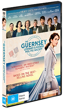 The Guernsey Literary and Potato Peel Pie Society DVDs