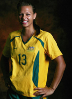 Thea Slatyer for Women's Football Interview