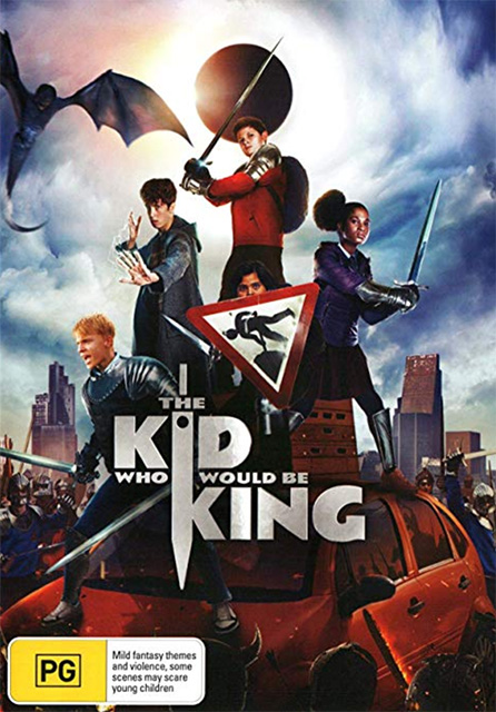 The Kid Who Would Be King DVDs
