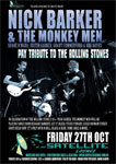 Nick Barker & The Monkey Men play the Rolling Stones