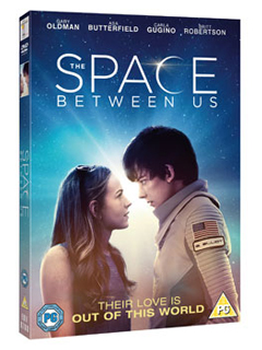 The Space Between Us DVD