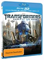 Transformers Dark of the Moon Blu-ray Combo Pack