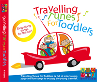 Travelling Tunes for Toddlers CD