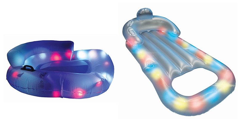 Pool Toys that Glo