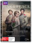 War And Peace DVDs