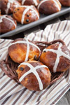 Hot Cross Buns with a Chocolatey Twist
