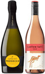 [yellow tail] Prosecco and Rosé